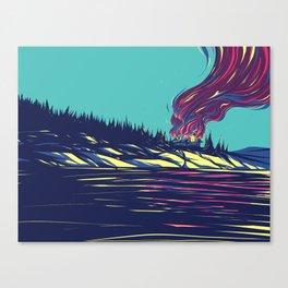 Cabin Life Canvas Print