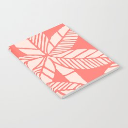Tropical Palm Tree Composition Coral Notebook