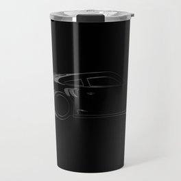 Dark Fast Car Travel Mug