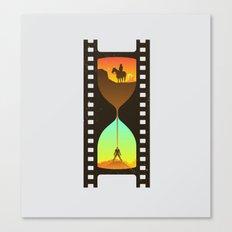 Movie Time Canvas Print