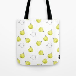 Giant Quince Pattern Tote Bag