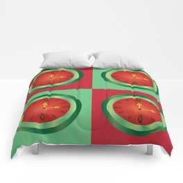 Waclockmelon Comforters