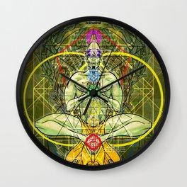 Manifest Destiny Wall Clock
