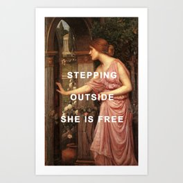 Psyche's Leaving Home Art Print