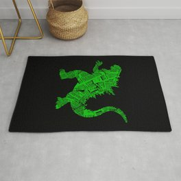 Japanese Monster - II Rug
