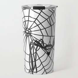 web with spider, spideypool, hegre prints illustration is inspired ... Home Decor Graphicdesign Travel Mug