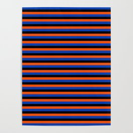 Color Stripe _001 Poster