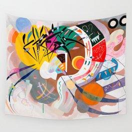 Kandinsky - Dominant Curve Wall Tapestry