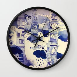 Tree House Wall Clock
