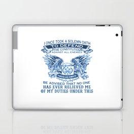 NAVY VETERAN Laptop & iPad Skin