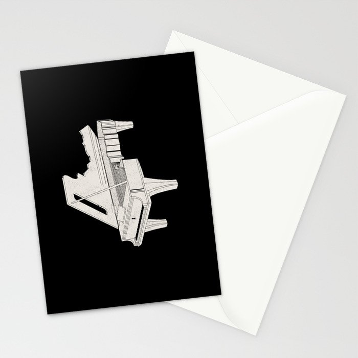 Music Is The Key. Stationery Cards