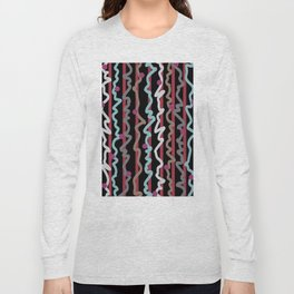Dots and Squiggles Long Sleeve T-shirt
