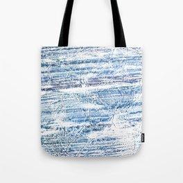 Light blue marble Tote Bag