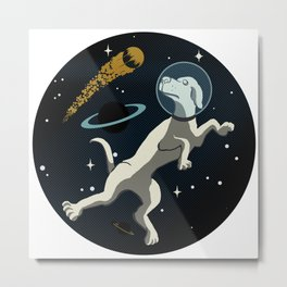 Space Race World Champion 1957 Metal Print