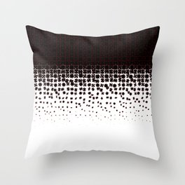 Be at Peace Not in Pieces Throw Pillow