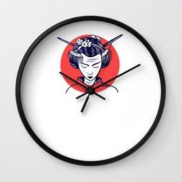 Because I'm Japanese - Japanese Wall Clock