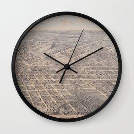 Dallas 1872 Wall Clock