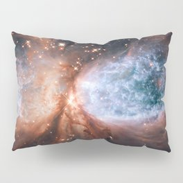 Star-forming region S106 Pillow Sham