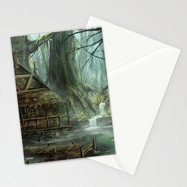 Swamp Illustration Stationery Cards