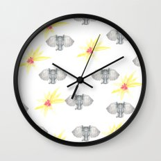 INDIAN WALLPAPER Wall Clock