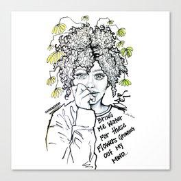 #STUKGIRL SUMMER Canvas Print