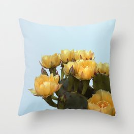 Prickly Pear #3 Throw Pillow