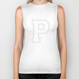 Letter P Biker Tank