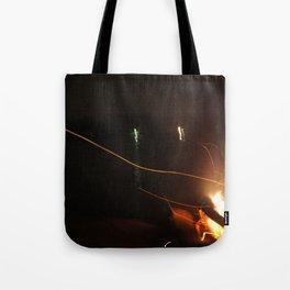 Fire Light Tote Bag