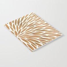 Rose Gold Burst Notebook