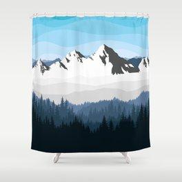 Alaska Winter Shower Curtain