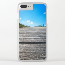 The Boardwalk Clear iPhone Case