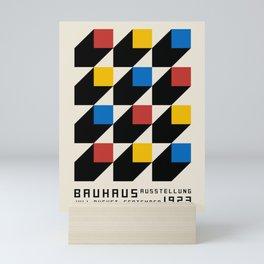Vintage poster-Bauhaus Juli-September 1923. Mini Art Print
