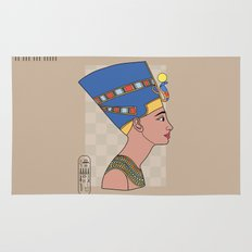 Queen Nefertiti Rug