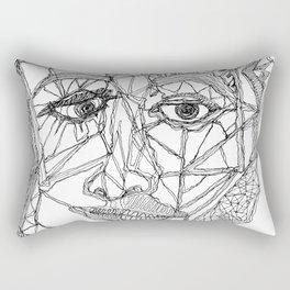 A Stream of Connection Rectangular Pillow