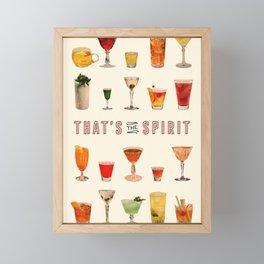 That's the Spirit Framed Mini Art Print