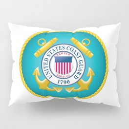 Seal of the United States Coast Guard Pillow Sham
