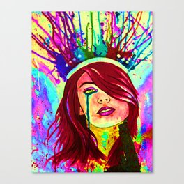 Unwanted Crown Canvas Print