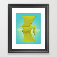 Pter Framed Art Print