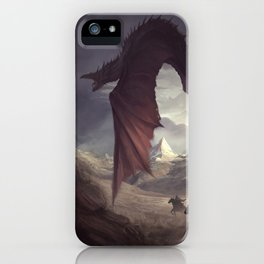 Dragon Chaser iPhone Case