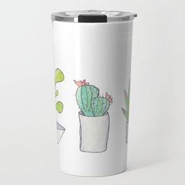 Succulent Trio Travel Mug