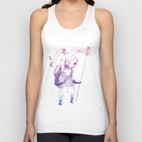 soldier Tank Tops featuring Sloth Soldier by Maryanna Hoggatt