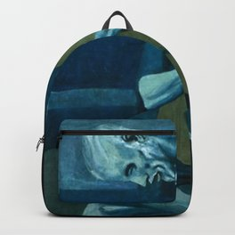 Pablo Picasso - The Old Guitarist Backpack