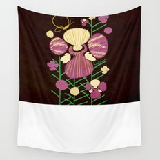 Floral Flower Artprint Wall Tapestry