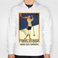 sports Hoodies featuring LES SPORTS by Kathead Tarot/David Rivera