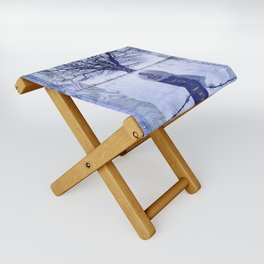 Ghost of the winter Folding Stool