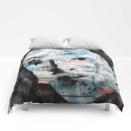 VENUSIAN FACE (PUZZLED DISK VERSION) Comforters