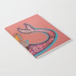 indian goddess mermaid Notebook