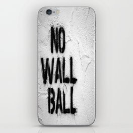 The Worst Little League Concession Stand  iPhone Skin