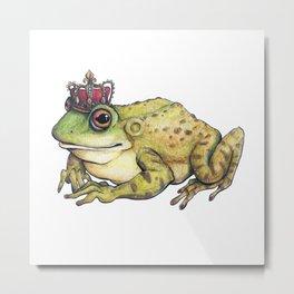 Frog Prince Metal Print
