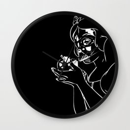 Snow Vader Wall Clock